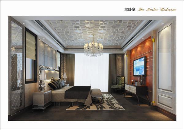 浑厚的文化底蕴撞上时代潮流家居,多重时尚元素的融合肆意彰显新古典卧室的从容与大气。