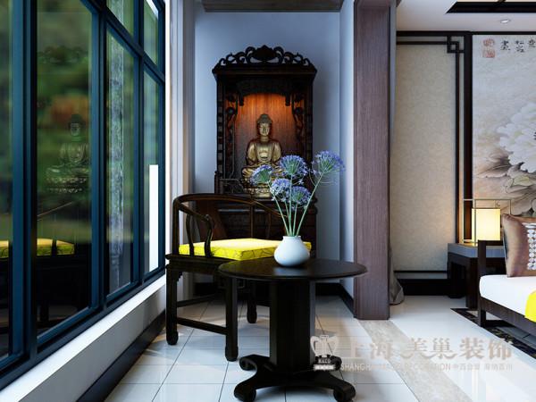 天骄华庭装修效果图鉴赏143平三室两厅样板间设计案例——休闲区域
