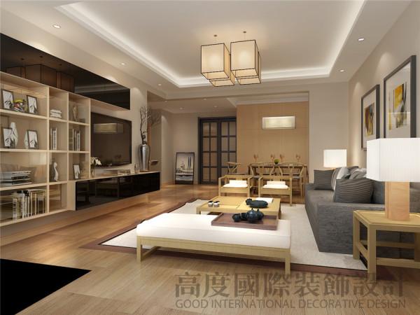 【高清】天府长城 日式风格 客厅装修风格 成都高度国际装修
