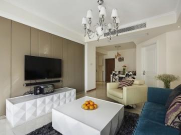 温馨简洁,72平三口之家两居室!