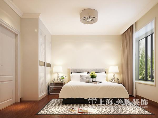 升龙天汇3室2厅装修简欧样板间116平效果图——客卧布局效果图