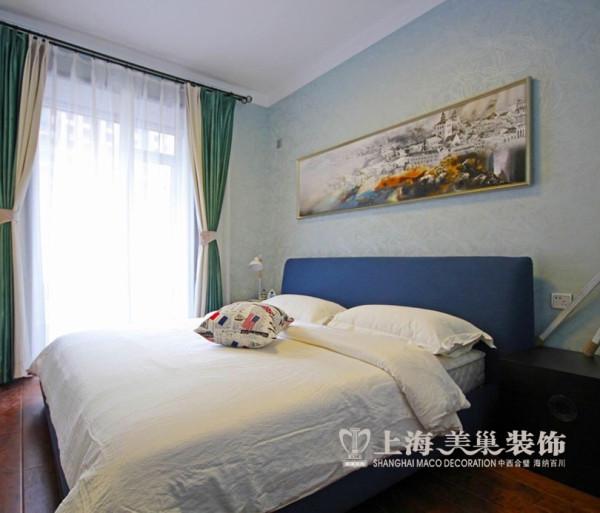 郑州升龙天汇广场2室2厅装修案例效果图赏析——现代简约风格设计卧室布局