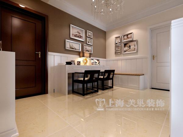 贰号城邦89平两居室现代简约案例样板间——餐厅效果图