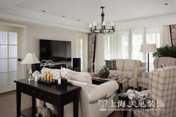 郑州永威翡翠城装修现代简约风格设计效果图——客厅样板间效果图