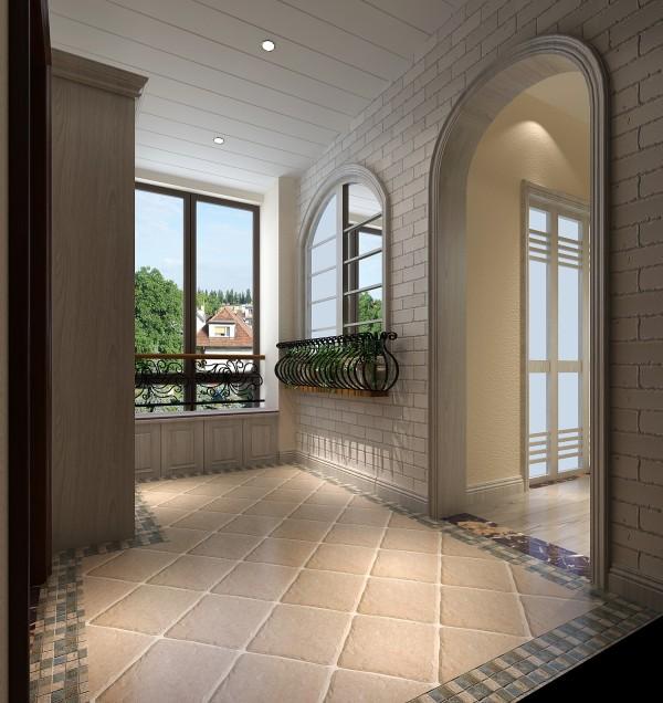 【高清】大气混搭 仁和春天花园 玄关装修设计 高度国际装饰设计