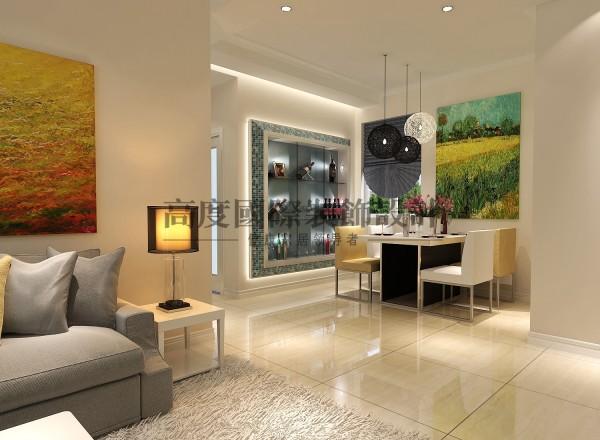 【高清】汇锦城 138㎡ 简约风  餐厅装修设计 成都高度国际装饰设计
