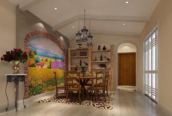 【高清】大气混搭 仁和春天花园 餐厅装修设计 高度国际装饰设计
