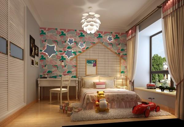 【高清】大气混搭 仁和春天花园 卧室装修设计 高度国际装饰设计