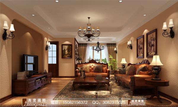 光华逸家客厅细节效果图----高度国际装饰设计