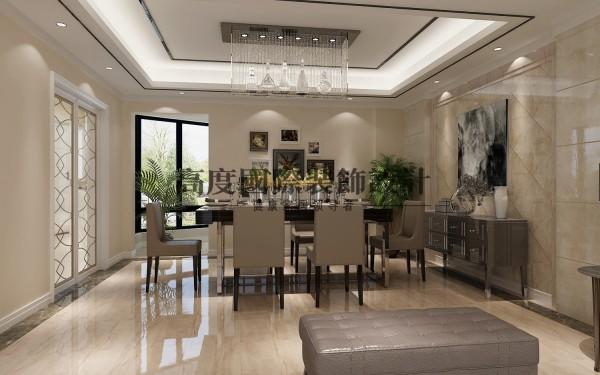 【高清】英伦联邦里面的现代风格 餐厅装修设计   成都高度国际装饰设计