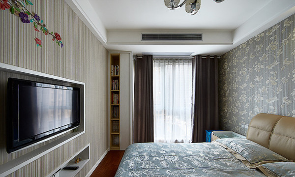 卧室:空间的合理使用,最大化的储物功能,美观实用。