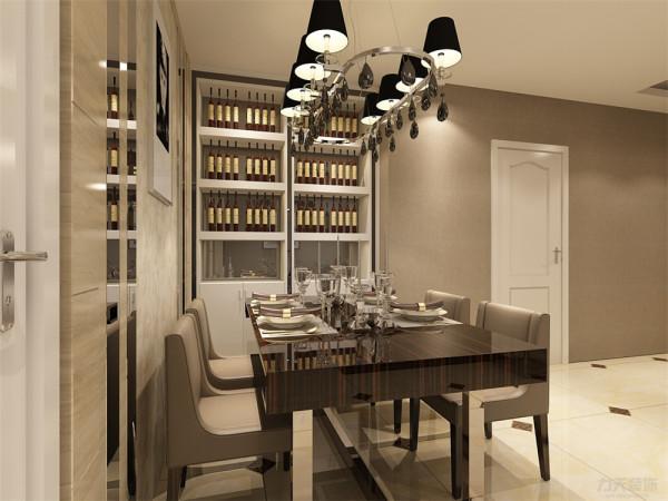 体现现代简约之感,创造温馨,健康的居家体验。厨房与餐厅为非开放式,隔绝油烟,设计很人性化。