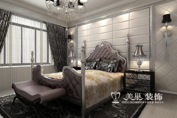 南阳外贸小区装修效果图——卧室布局