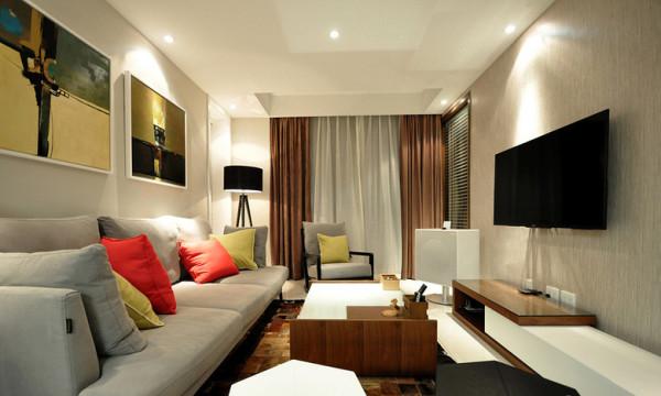 家具突出强调功能性设计,设计线条简约流畅,家具色彩对比强烈,这是现代风格家具的特点。