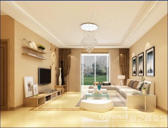 四居 太原业之峰 客厅图片来自太原业之峰诺华装饰杨丽茹在年轻的分享