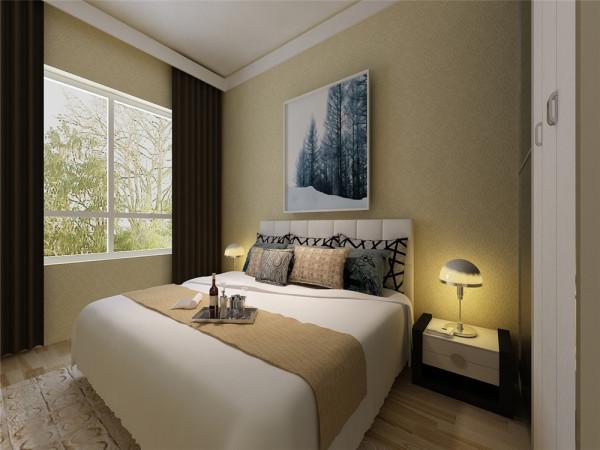 卧室一般是家居里人们非常重视的地方,如果希望光线柔和,色调温馨,但又显得稳重大气,深色木的运用结合磨砂玻璃,沉着稳重,但不呆板。