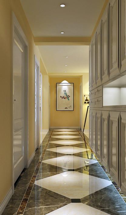 玄关走廊的整体装修设计效果