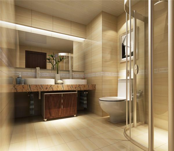 原有的户型结构里的卫生间有两个,从成本角度考虑花费有点大,从使用的实用性来说,主卧的卫生间使用起来不是特别的舒服,结合客户本身的需求决定两间合并为一间