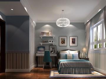 八家佳苑93㎡新中式公寓