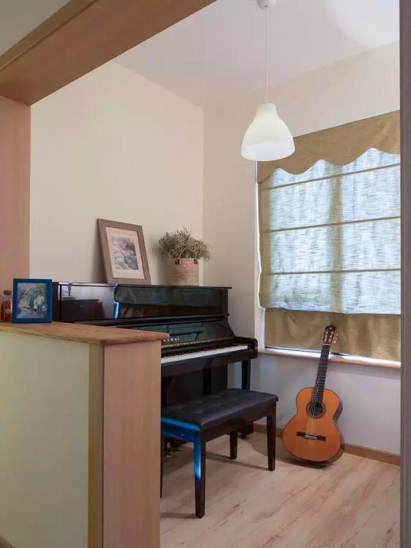 开放式的琴房