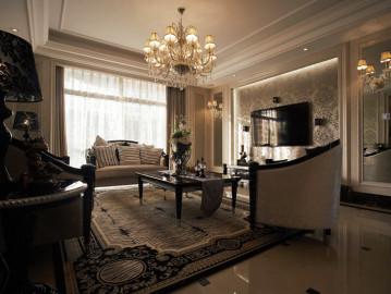 欧式装修打造150平时尚之家