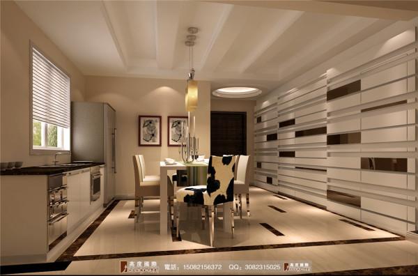 恒大金碧天下餐厅细节效果图---高度国际装饰设计
