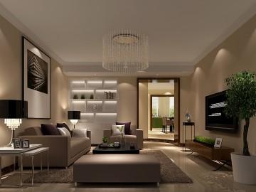 大宁山庄140平米现代公寓