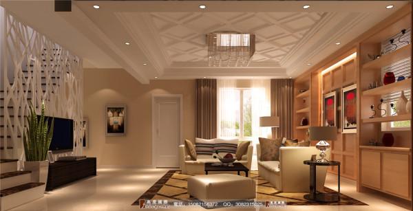 恒大金碧天下客厅细节效果图---高度国际装饰设计