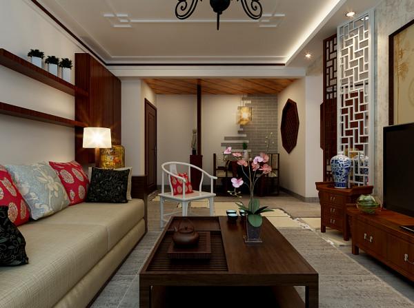 客厅整体装修设计效果图