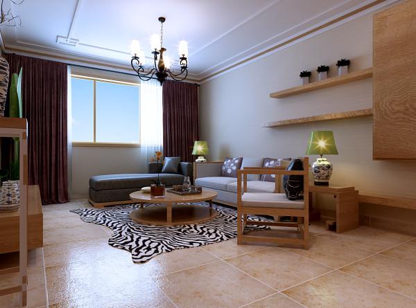 客厅沙发墙面装修设计效果展示