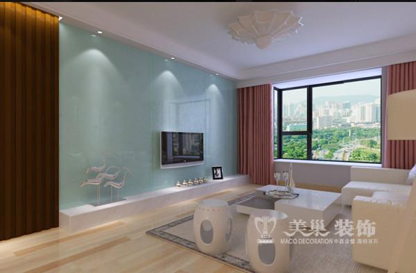 洛阳鼎城145平三室两厅装修新中式效果图