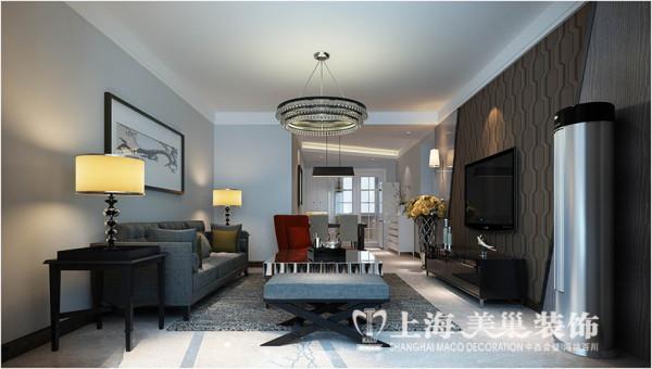 维也纳森林装修设计三室两厅89平居室效果图
