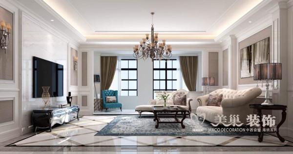 锦园四室两厅160平新古典风格装修效果图