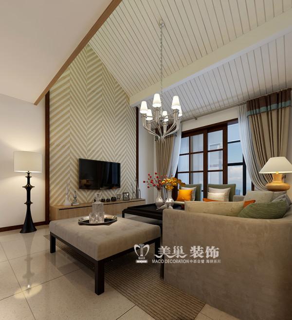 河南警察学院家属院两室两厅110平居室装修效果图