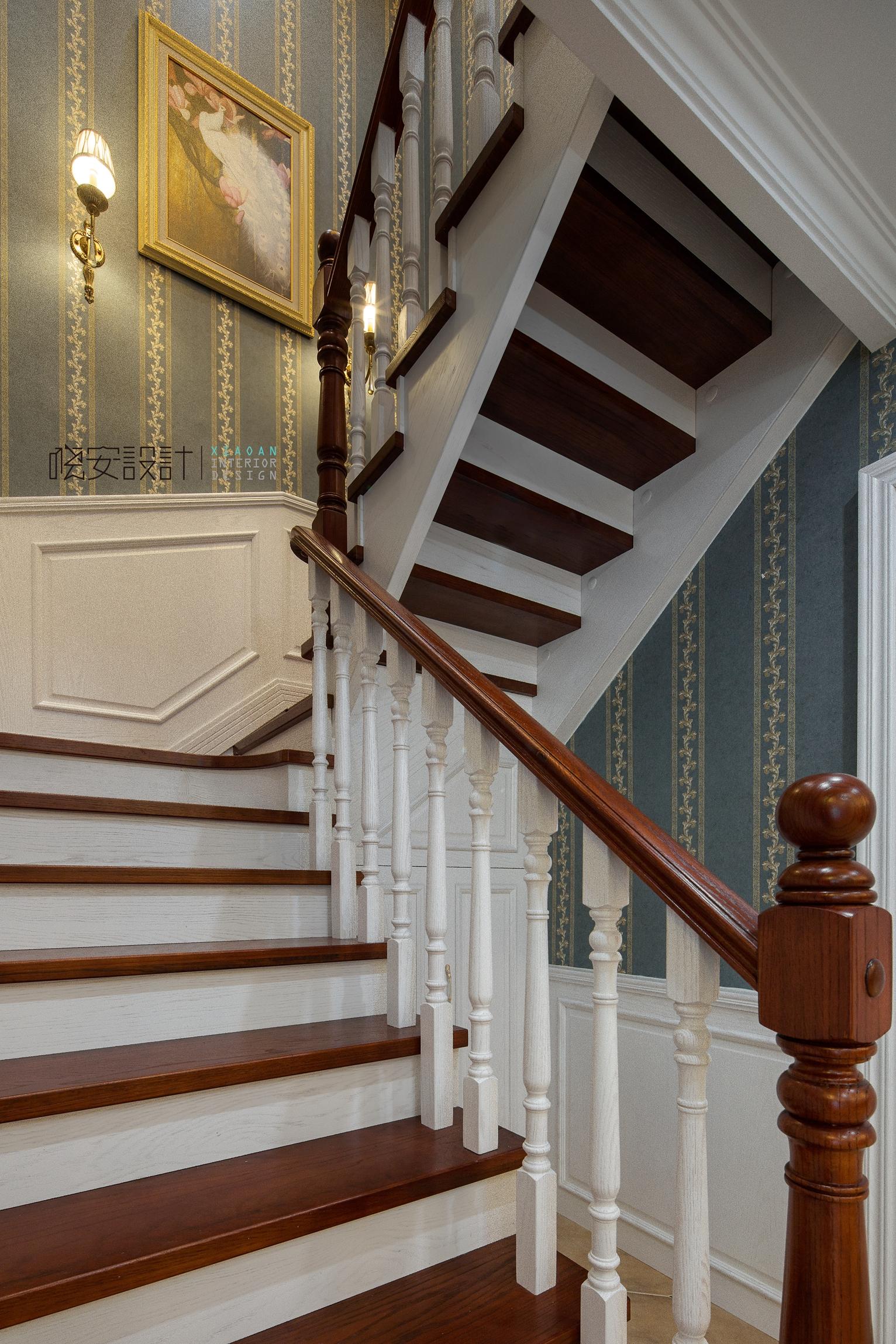 80后 美式 楼梯图片来自周晓安在世贸运河城的分享