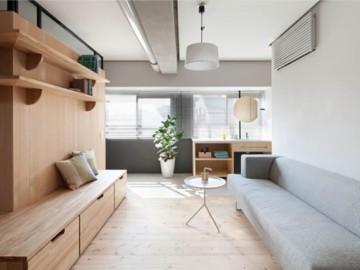 半开放式日式住宅