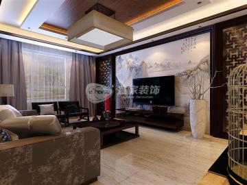鑫丰雍景豪城新中式风格