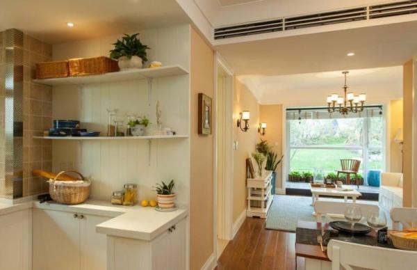 一个开放式的厨房