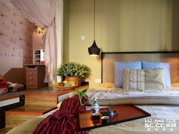 设计 理念儿童房榻榻米设计 主材 说明地砖:LD 乳胶漆:丹麦福乐阁