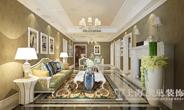 财信圣堤亚纳130平简欧三室两厅装修效果图