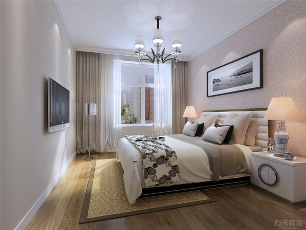 主卧因为是老人住,所以很简单,常规的家具,次卧室是用榻榻米加上一个衣柜和一个现代的书桌