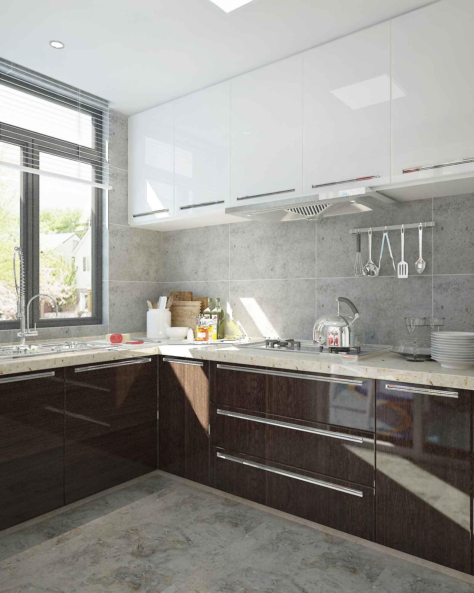80后 温暖新家 一家三口 现代 厨房图片来自北京今朝装饰老房新房装修