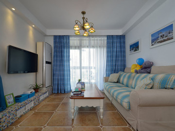于先生蓝调地中海的新房