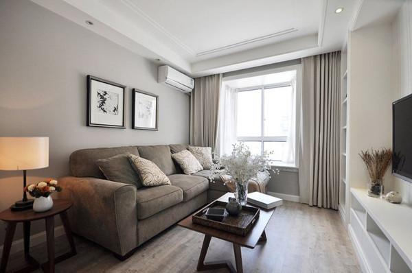家装墙面乳胶漆_设计理念客厅以现代简约风格为主,灰色乳胶漆墙面搭配
