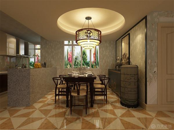 福渔园三室二厅一厨两卫的137平米户型。本案风格定义为新中式,新中式风格设计,是一种既继承了中国古典基本元素及手法,又融合了现代生活的设计风格,是符合现代人生活居住的中式风格居住空间。