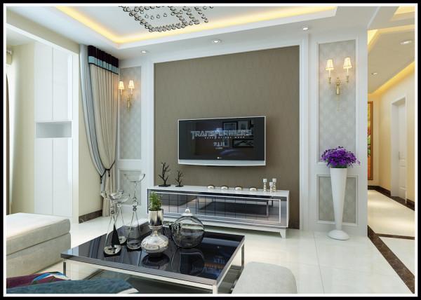 色彩的高度凝练和造型的极度简洁,在满足功能需求的前提下让一些             空间和人既物进行合理的分配组合,描绘出最丰富动人的空间效果。客厅设计
