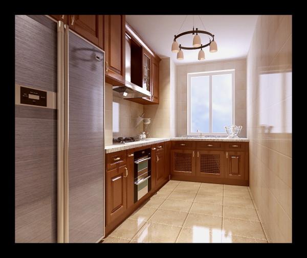 生活家装饰--韦伯豪家园130平米简欧风格厨房装修效果图