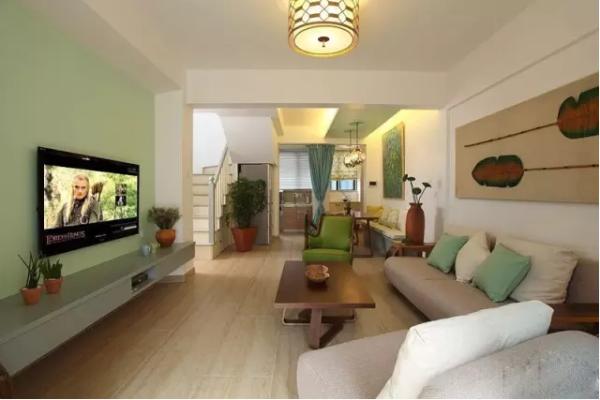 首邑溪谷 复式装修 旧房改造 别墅装修 客厅图片来自小户型装修案例在