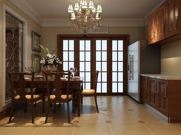桌摆恰到好处的点缀,带着来似有似无的清香,处处体现着业主对生活品质的追求