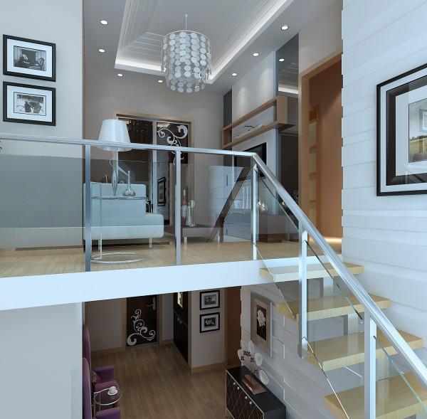 生活家装饰--金色漫香林小区130平米现代风格二层起居室装修效果图